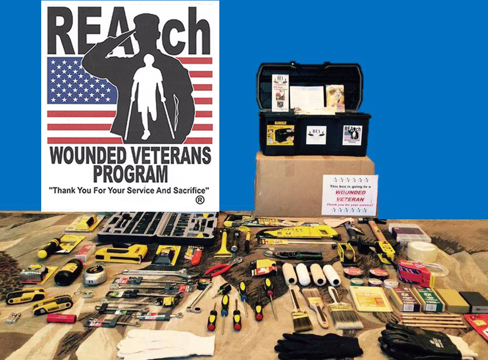 FREE REAch Wounded Veteran Too...
